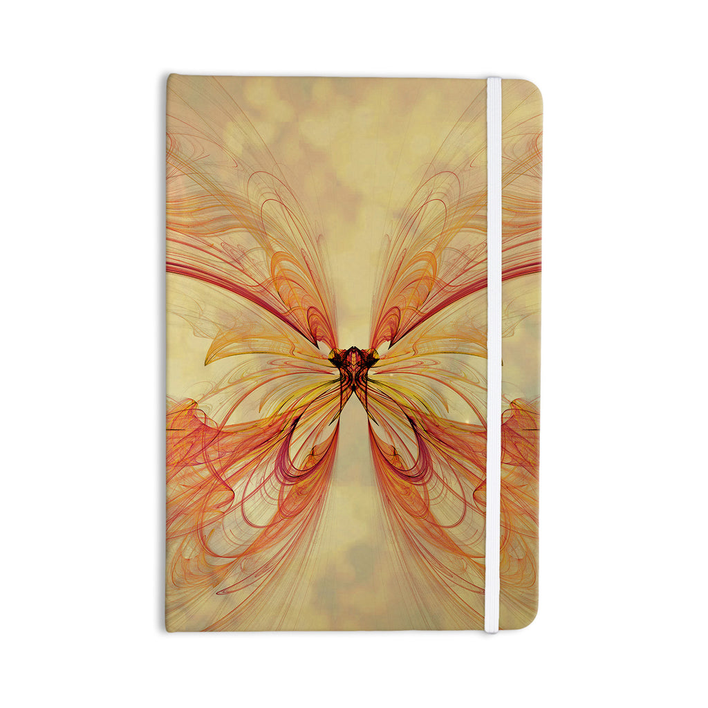 "Alison Coxon ""Papillon"" Everything Notebook - KESS InHouse  - 1"