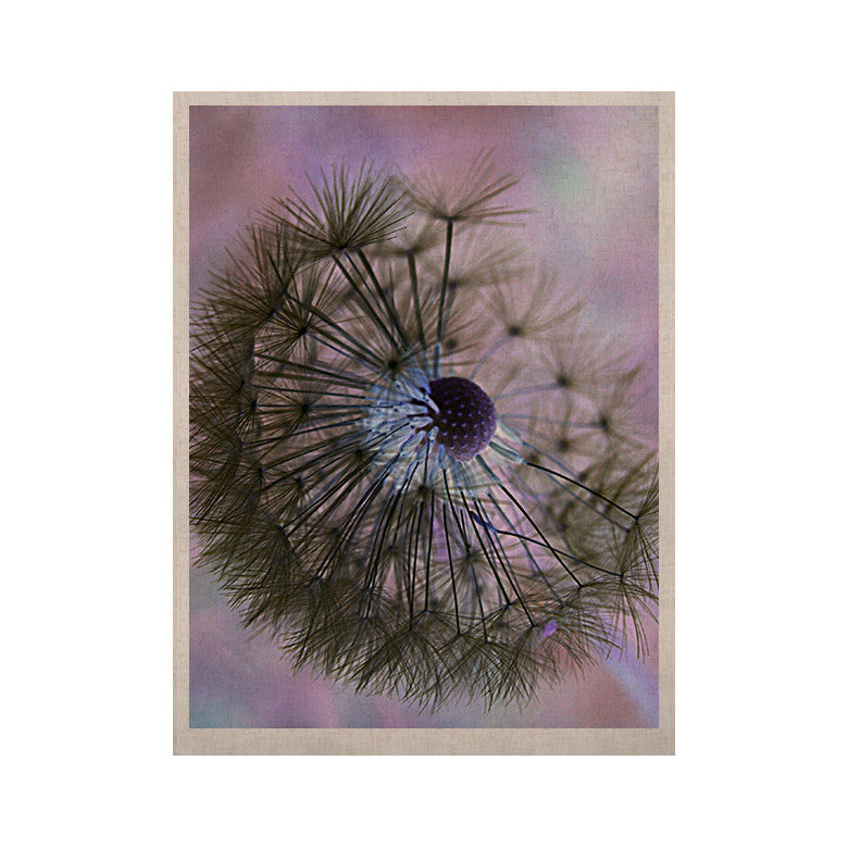 "Alison Coxon ""Dandelion Clock"" KESS Naturals Canvas (Frame not Included) - KESS InHouse  - 1"