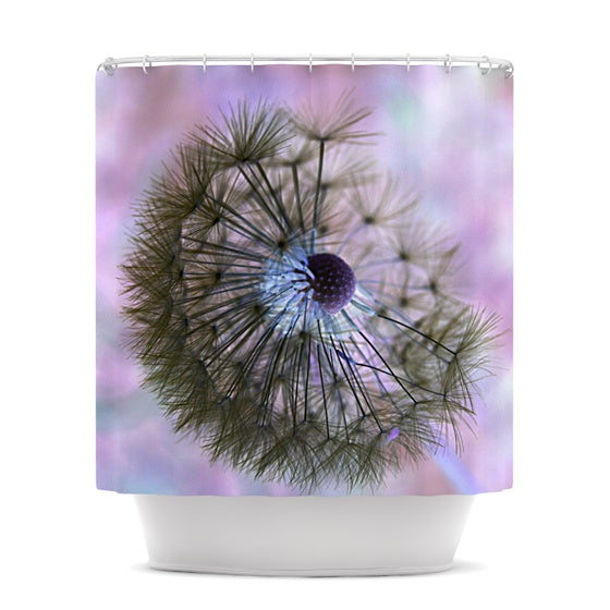 "Alison Coxon ""Dandelion Clock"" Shower Curtain - KESS InHouse"
