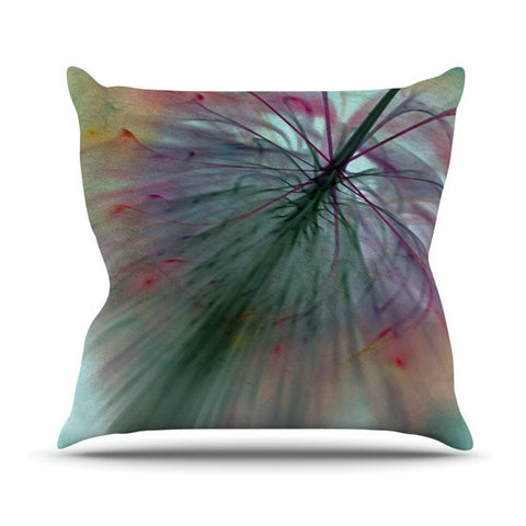 "Alison Coxon ""Fleur"" Outdoor Throw Pillow - KESS InHouse  - 1"