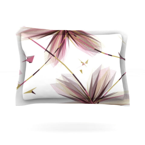 "Alison Coxon ""Flower Aubergine"" Pillow Sham - Outlet Item"