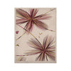 "Alison Coxon ""Flower Aubergine"" KESS Naturals Canvas (Frame not Included) - KESS InHouse  - 1"
