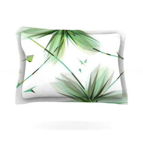 "Alison Coxon ""Flower Teal"" Pillow Sham - Outlet Item"