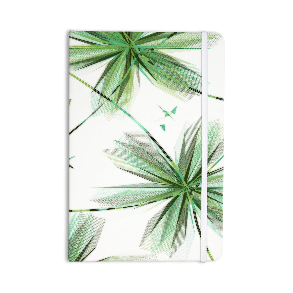 "Alison Coxon ""Flower Teal"" Everything Notebook - KESS InHouse  - 1"