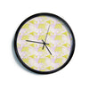 "Alison Coxon ""Yellow""  Modern Wall Clock"