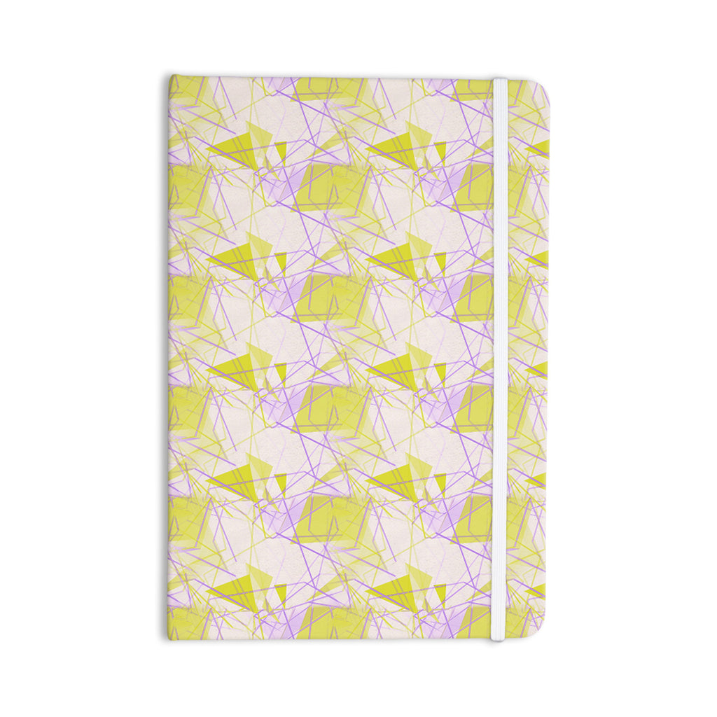"Alison Coxon ""Yellow"" Everything Notebook - KESS InHouse  - 1"