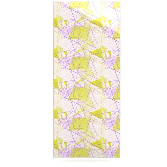 "Alison Coxon ""Yellow"" Luxe Rectangle Panel - KESS InHouse  - 1"