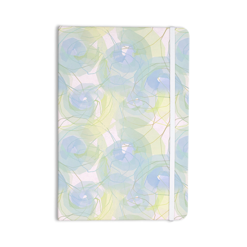 "Alison Coxon ""Blue Paper Flower"" Everything Notebook - KESS InHouse  - 1"