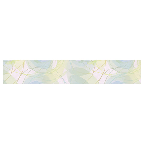 "Alison Coxon ""Blue Paper Flower"" Table Runner - KESS InHouse  - 1"