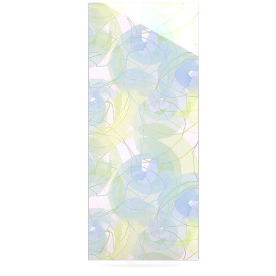 "Alison Coxon ""Blue Paper Flower"" Luxe Rectangle Panel - KESS InHouse  - 1"