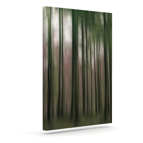 "Alison Coxon ""Forest Blur"" Outdoor Canvas Wall Art - KESS InHouse  - 1"