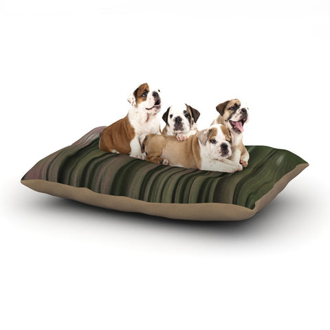 "Alison Coxon ""Forest Blur"" Dog Bed - KESS InHouse  - 1"