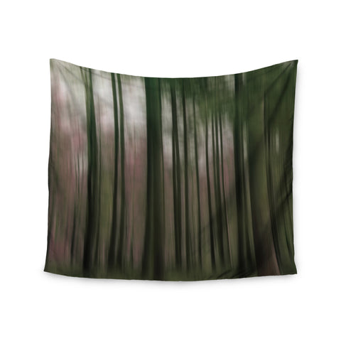 "Alison Coxon ""Forest Blur"" Wall Tapestry - KESS InHouse  - 1"