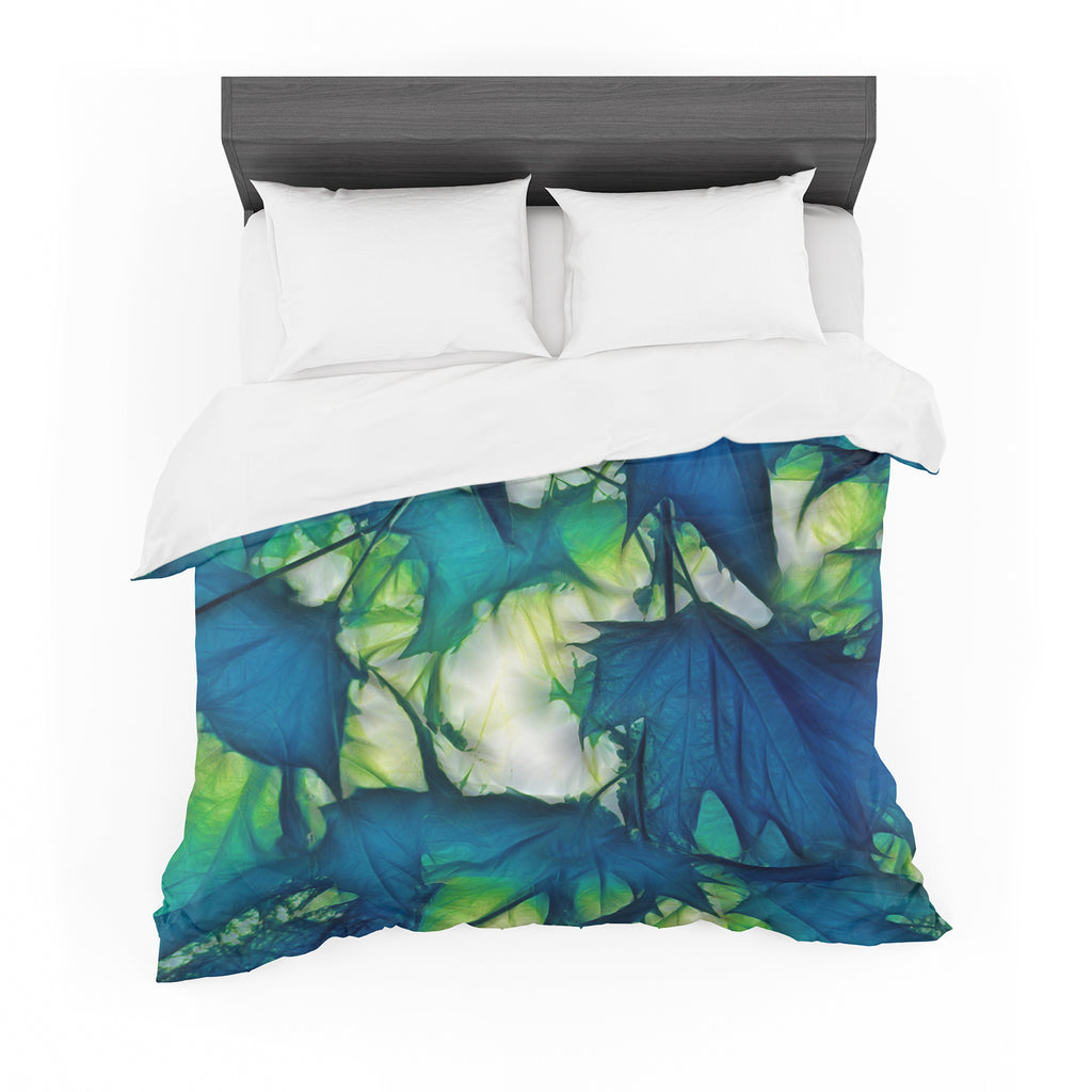 "Alison Coxon ""Leaves"" Featherweight Duvet Cover"
