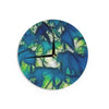 "Alison Coxon ""Leaves"" Wall Clock - KESS InHouse"