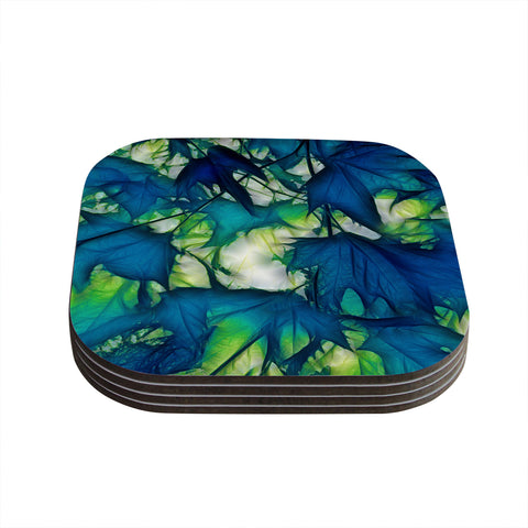"Alison Coxon ""Leaves"" Coasters (Set of 4) - Outlet Item"