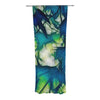 "Alison Coxon ""Leaves"" Decorative Sheer Curtain - KESS InHouse"
