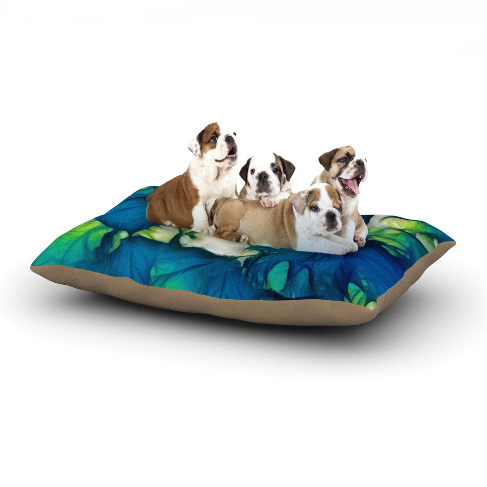 "Alison Coxon ""Leaves"" Dog Bed - KESS InHouse  - 1"