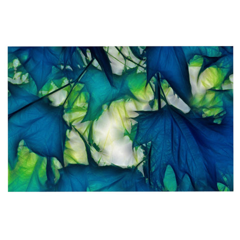 "Alison Coxon ""Leaves"" Decorative Door Mat - KESS InHouse"