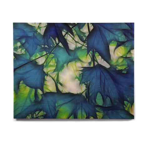 "Alison Coxon ""Leaves"" Birchwood Wall Art - KESS InHouse  - 1"
