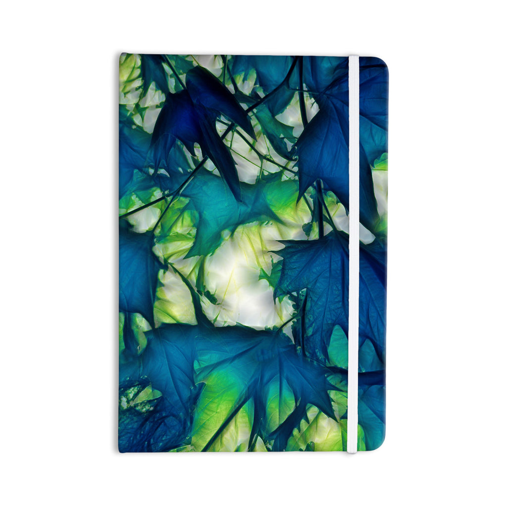 "Alison Coxon ""Leaves"" Everything Notebook - KESS InHouse  - 1"