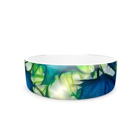 "Alison Coxon ""Leaves"" Pet Bowl - KESS InHouse"