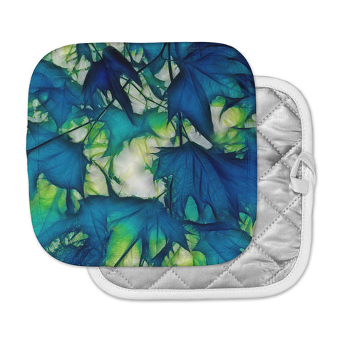 "Alison Coxon ""Leaves"" Pot Holder"