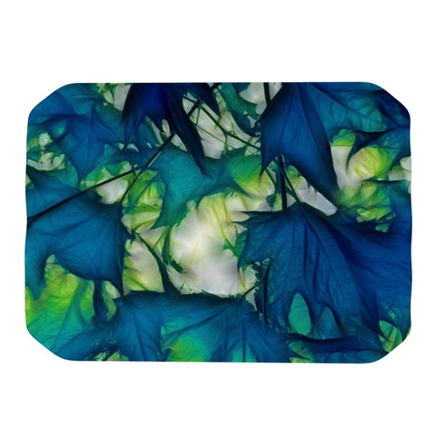 "Alison Coxon ""Leaves"" Place Mat - KESS InHouse"