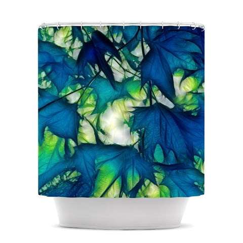 "Alison Coxon ""Leaves"" Shower Curtain - KESS InHouse"