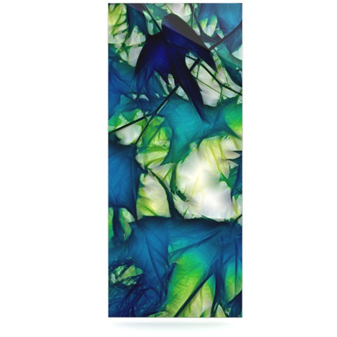 "Alison Coxon ""Leaves"" Luxe Rectangle Panel - KESS InHouse  - 1"