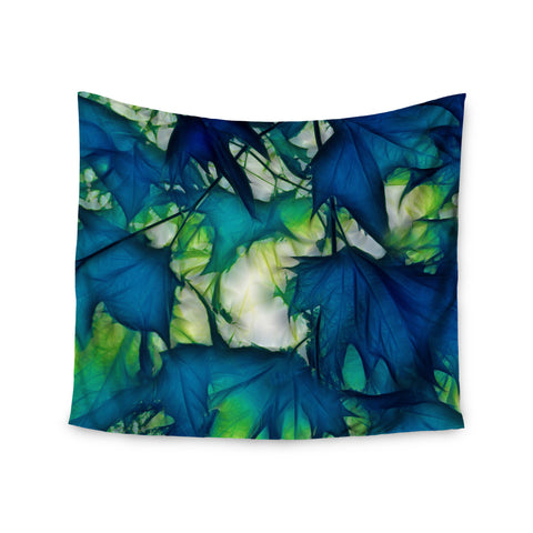 "Alison Coxon ""Leaves"" Wall Tapestry - KESS InHouse  - 1"