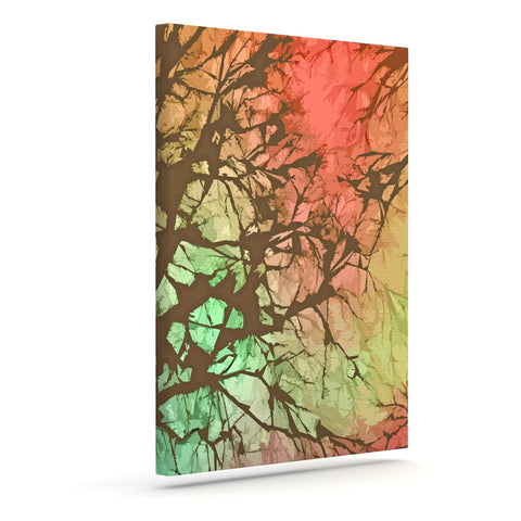 "Alison Coxon ""Fire Skies"" Outdoor Canvas Wall Art - KESS InHouse  - 1"