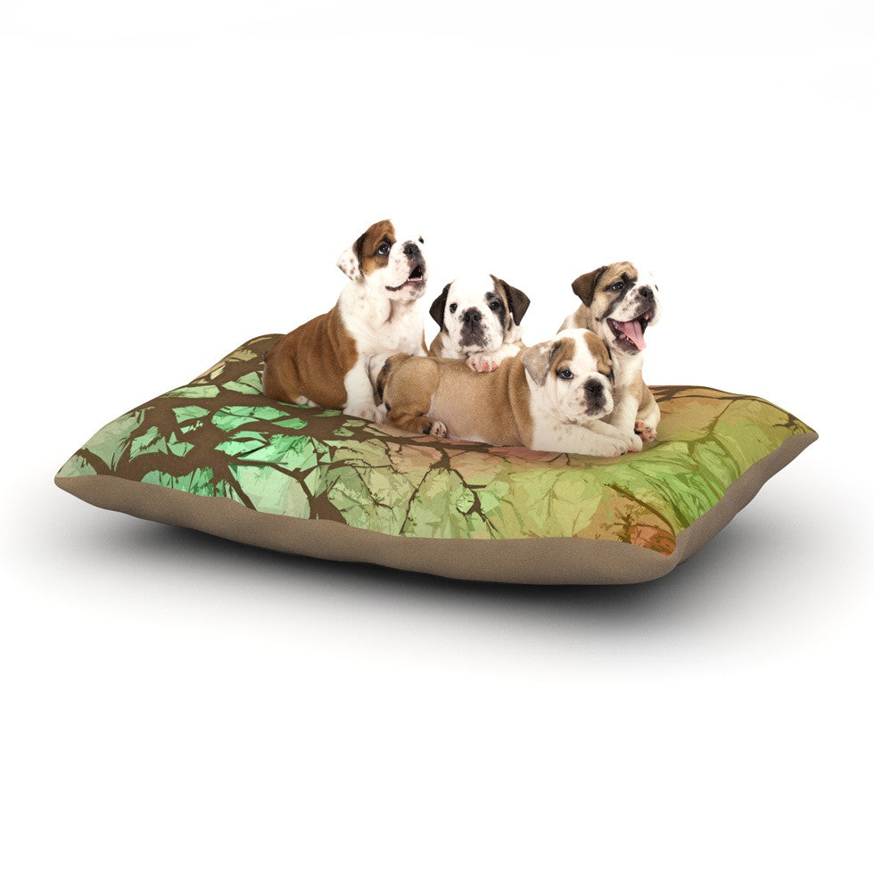 "Alison Coxon ""Fire Skies"" Dog Bed - KESS InHouse  - 1"
