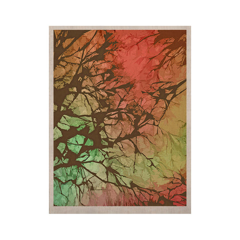 "Alison Coxon ""Fire Skies"" KESS Naturals Canvas (Frame not Included) - KESS InHouse  - 1"