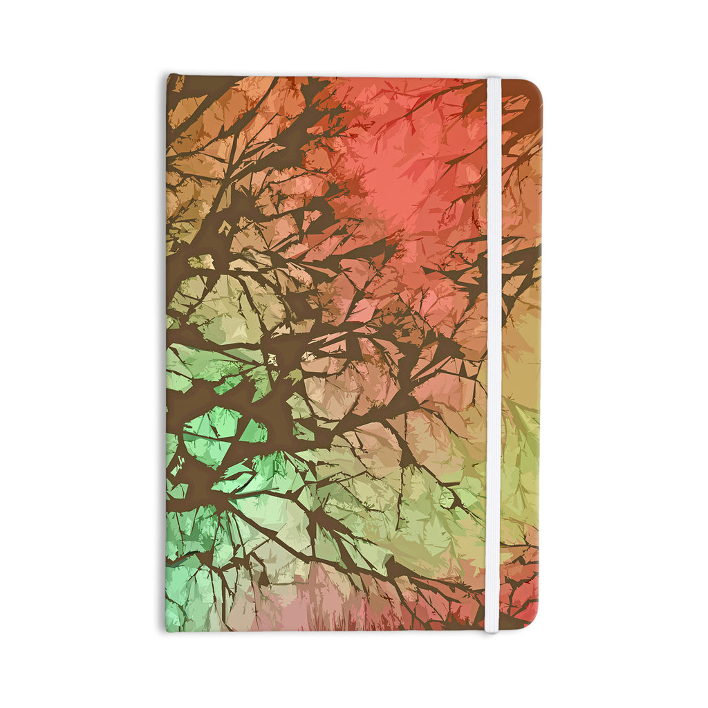 "Alison Coxon ""Fire Skies"" Everything Notebook - KESS InHouse  - 1"