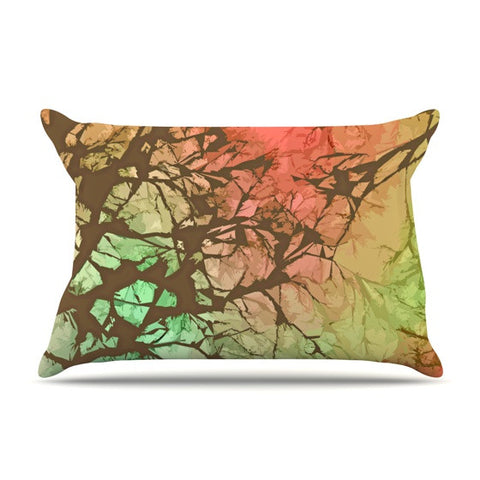 "Alison Coxon ""Fire Skies"" Pillow Sham - KESS InHouse  - 1"