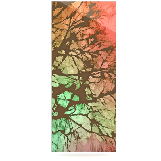 "Alison Coxon ""Fire Skies"" Luxe Rectangle Panel - KESS InHouse  - 1"