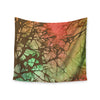 "Alison Coxon ""Fire Skies"" Wall Tapestry - KESS InHouse  - 1"
