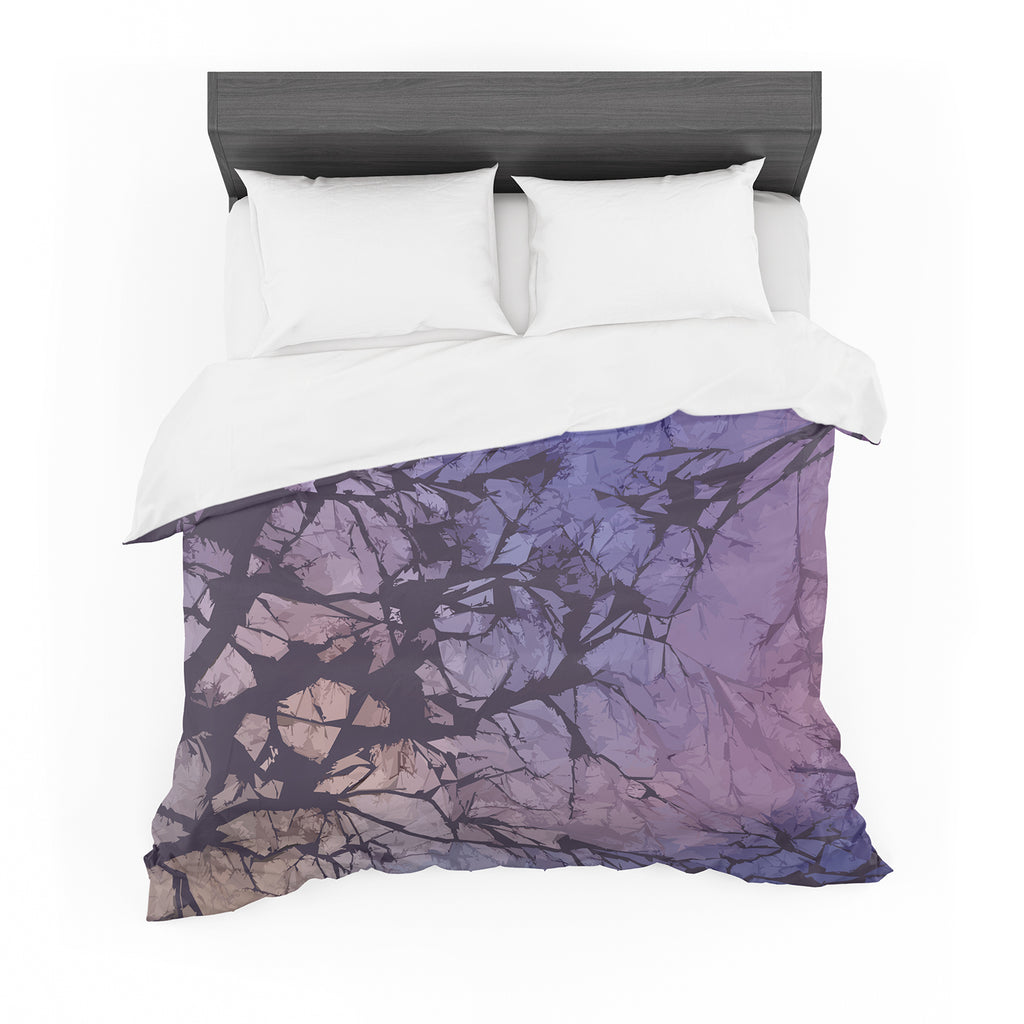 "Alison Coxon ""Violet Skies"" Featherweight Duvet Cover"