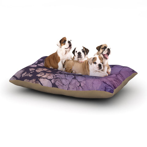 "Alison Coxon ""Violet Skies"" Dog Bed - KESS InHouse  - 1"