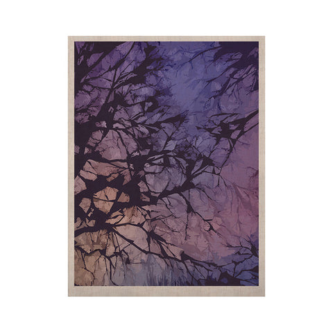 "Alison Coxon ""Violet Skies"" KESS Naturals Canvas (Frame not Included) - KESS InHouse  - 1"