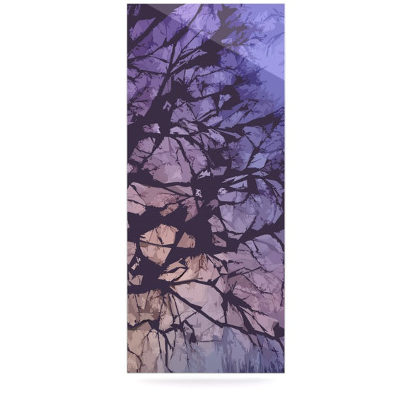 "Alison Coxon ""Violet Skies"" Luxe Rectangle Panel - KESS InHouse  - 1"