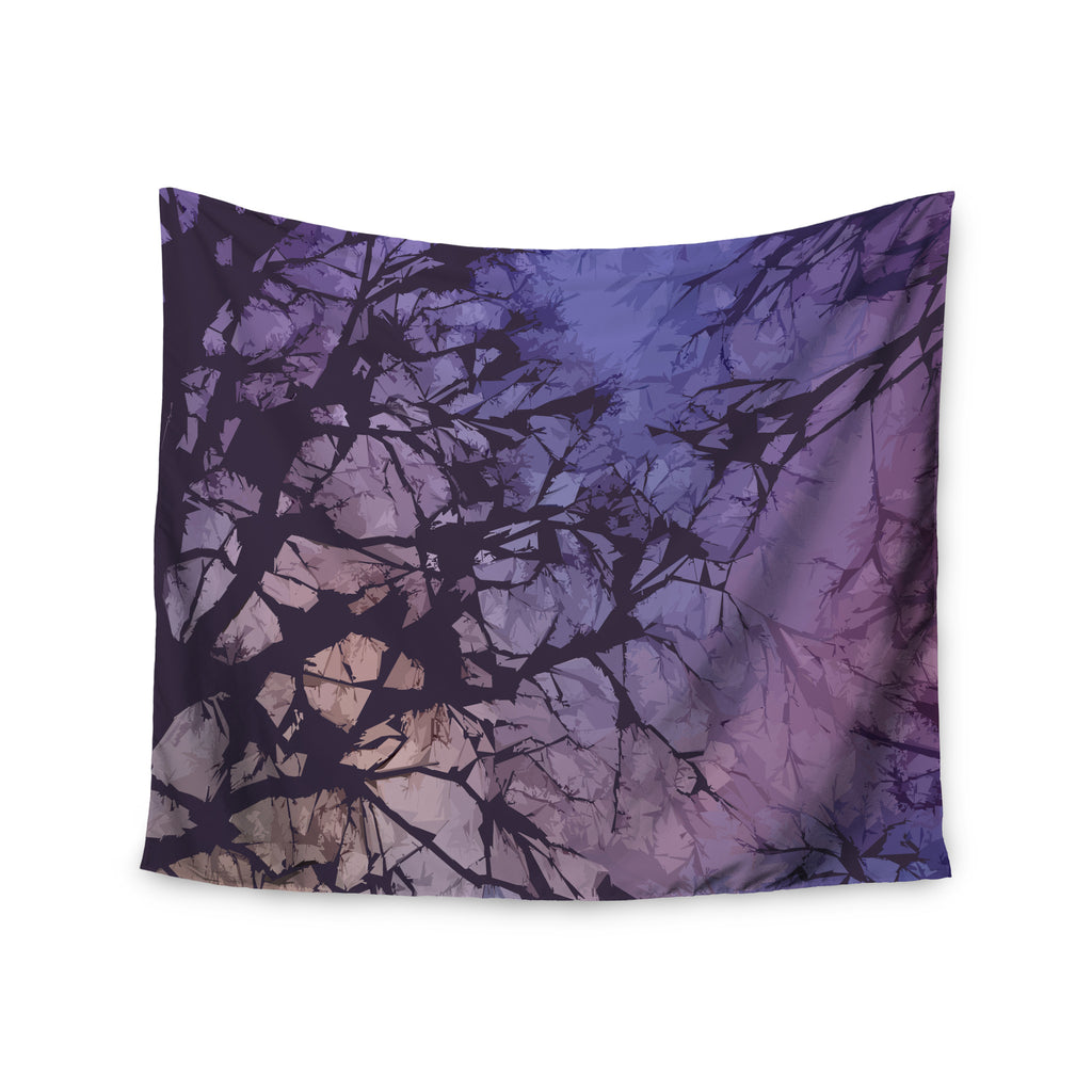 "Alison Coxon ""Violet Skies"" Wall Tapestry - KESS InHouse  - 1"