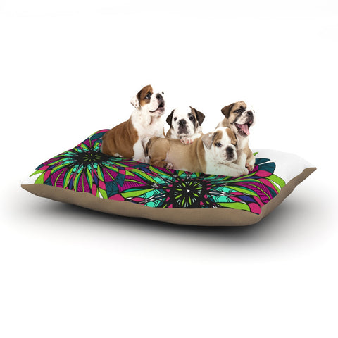 "Alison Coxon ""Bright"" Dog Bed - KESS InHouse  - 1"