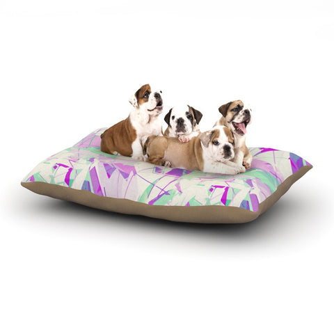 "Alison Coxon ""Shatter Purple"" Dog Bed - KESS InHouse  - 1"