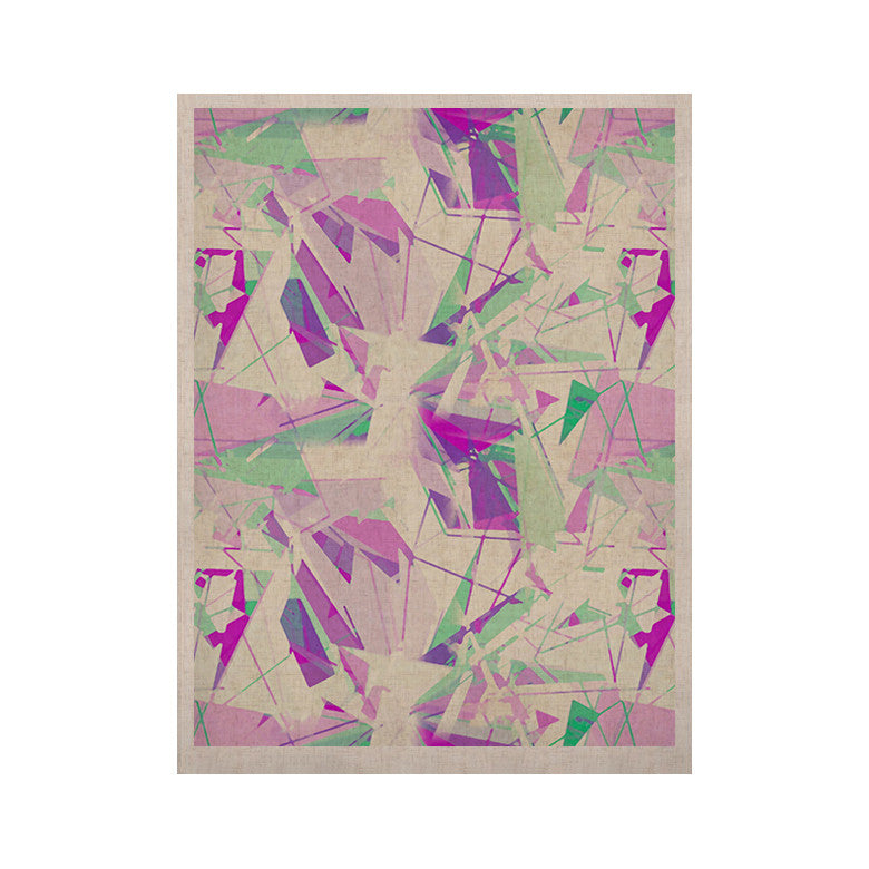 "Alison Coxon ""Shatter Purple"" KESS Naturals Canvas (Frame not Included) - KESS InHouse  - 1"