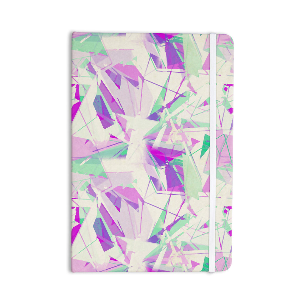 "Alison Coxon ""Shatter Purple"" Everything Notebook - KESS InHouse  - 1"