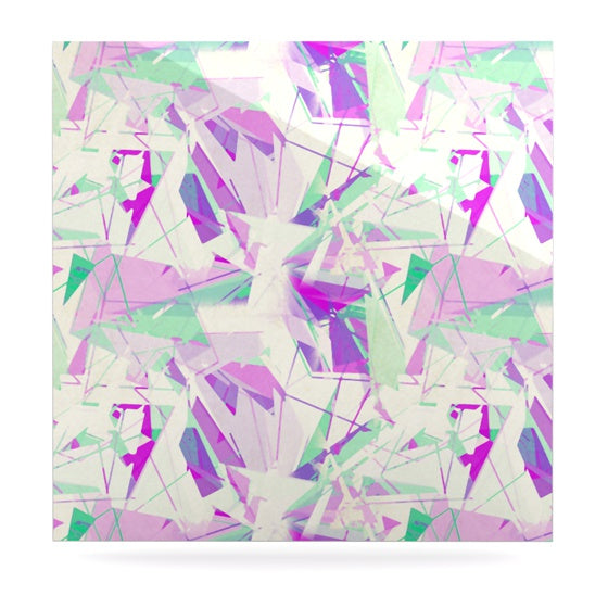 "Alison Coxon ""Shatter Purple"" Luxe Square Panel - KESS InHouse  - 1"
