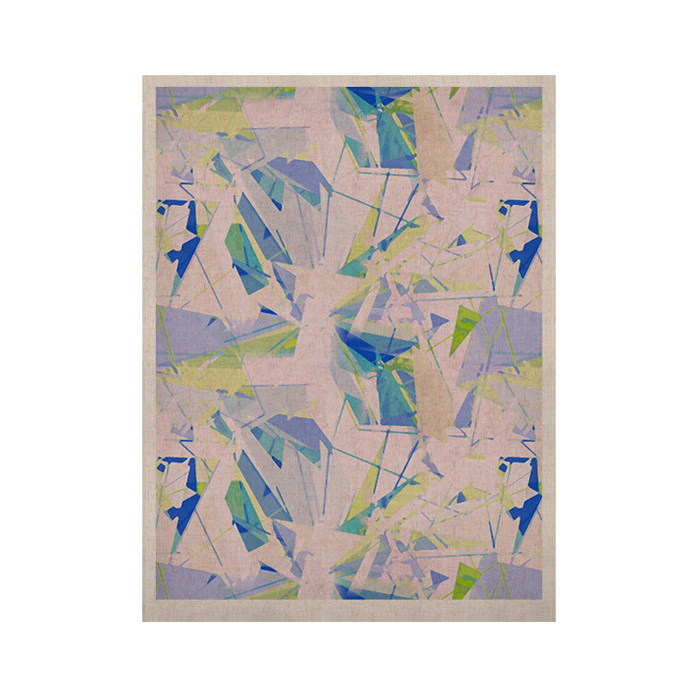 "Alison Coxon ""Shatter Blue"" KESS Naturals Canvas (Frame not Included) - KESS InHouse  - 1"