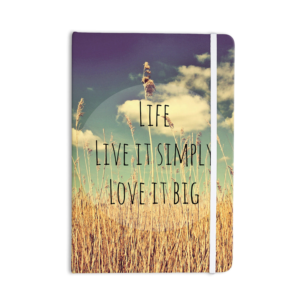 "Alison Coxon ""Life"" Everything Notebook - KESS InHouse  - 1"